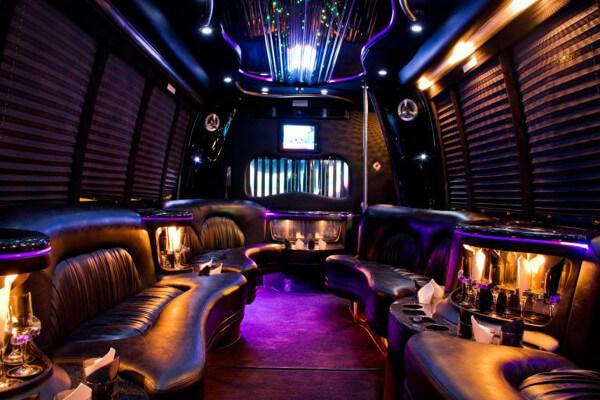 15 Person Party Bus Rental San Jose