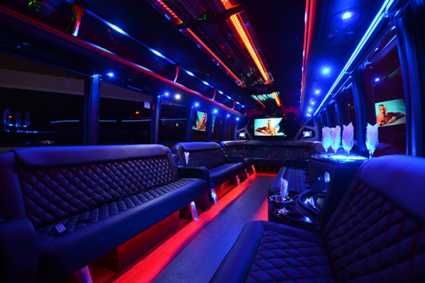 40 Person Party Bus Rental San Jose