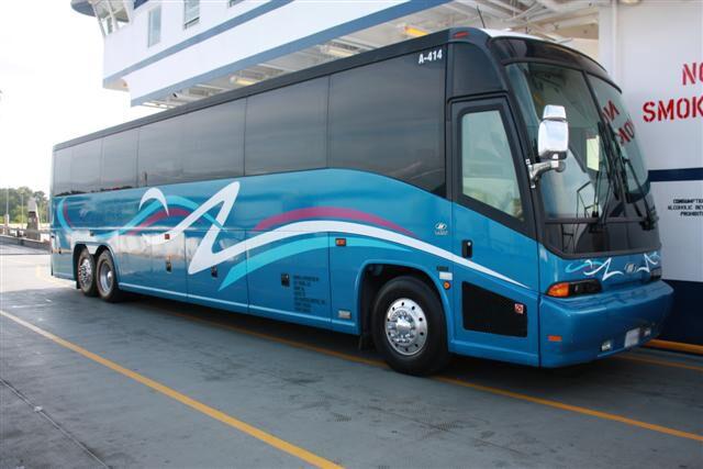 San Jose 50 Passenger Charter Bus
